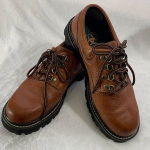 Women's Soft Leather Ariat Lace Up Oxfords